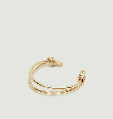 Faux piercing gold filled Eclat