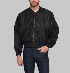 Crossed Bomber Jacket