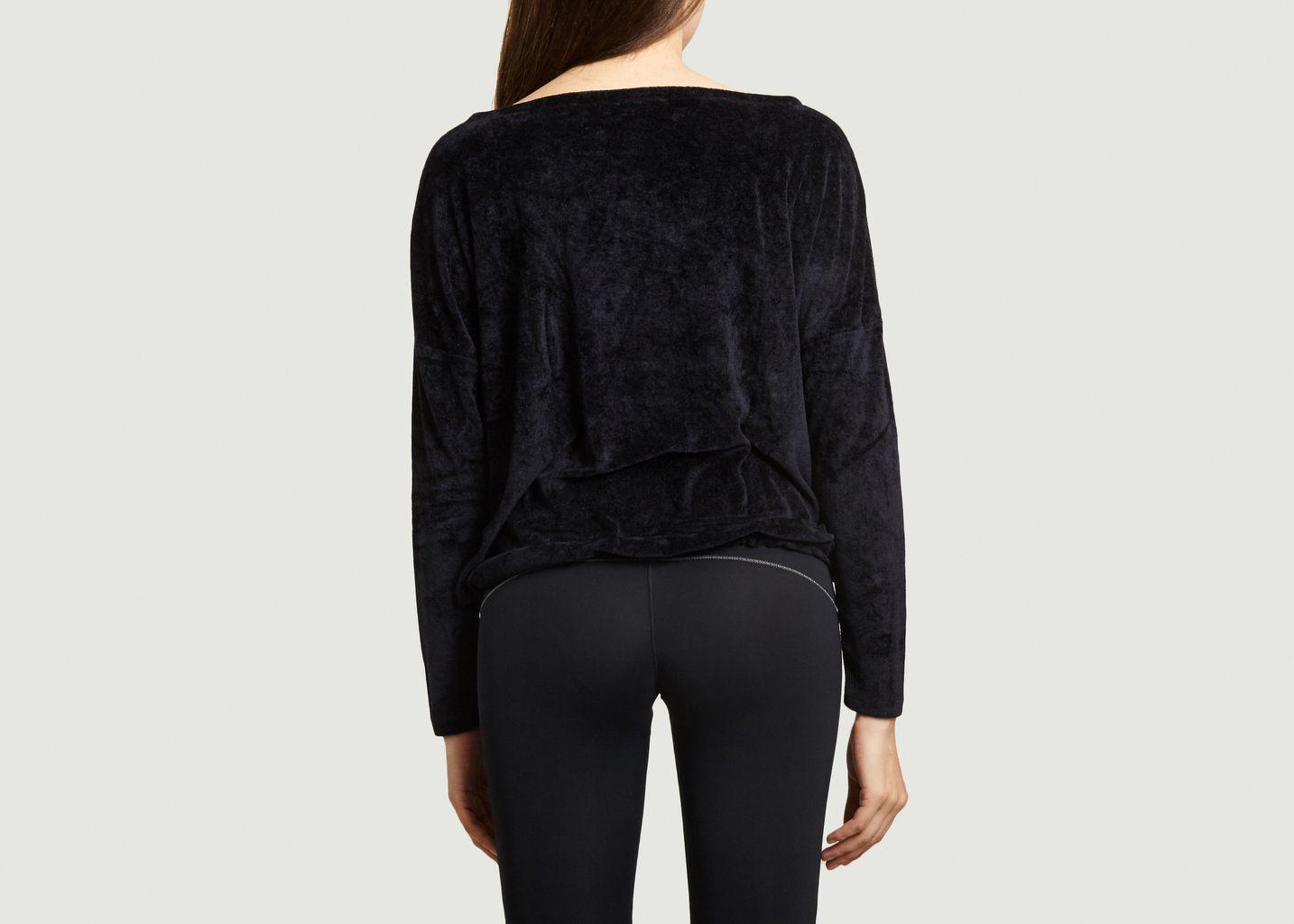 Sweat Nicole en tissu éponge - YUJ Paris