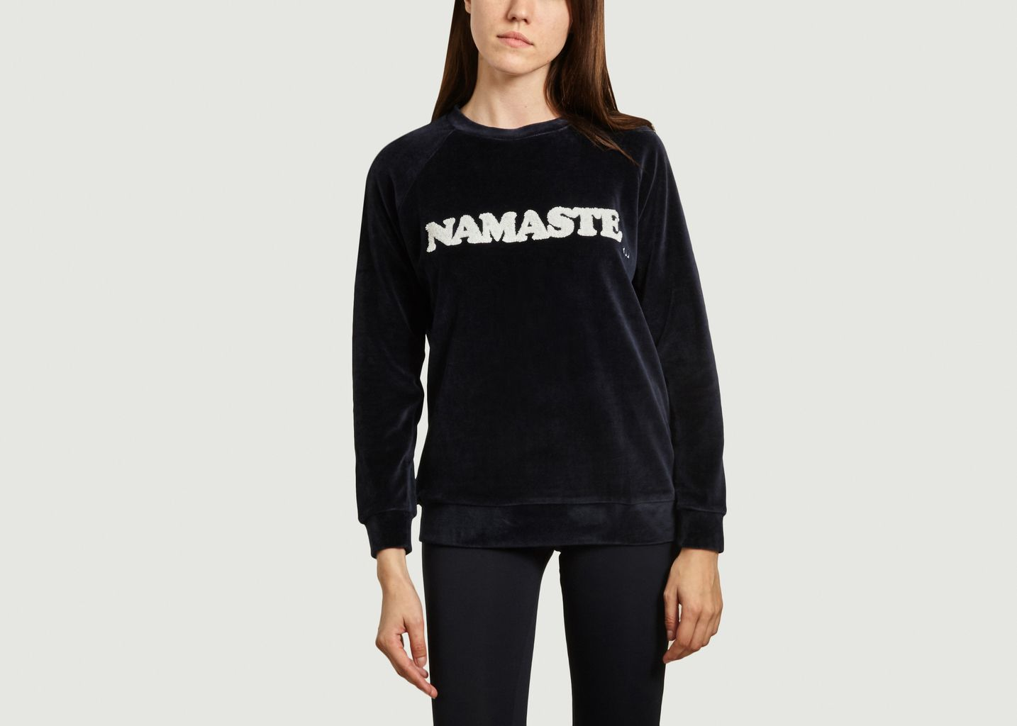 Sweat velvet Namaste - YUJ Paris