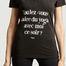 matière T-shirt Voulez-vous ? - YUJ Paris