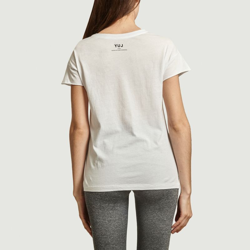T-shirt Yoga will save the planet - YUJ Paris