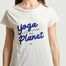 matière T-shirt Yoga will save the planet - YUJ Paris