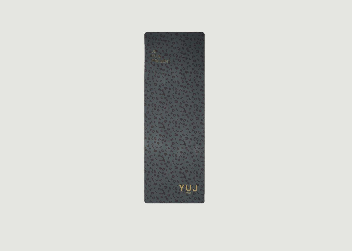 Tapis de yoga imprimé léopard Leokaki - YUJ Paris