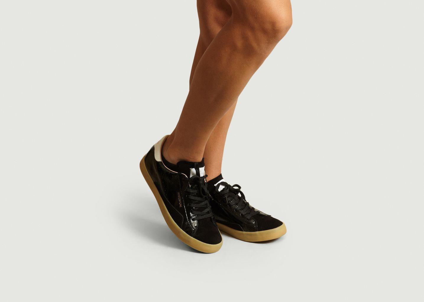 Sneakers En Cuir SC01 - 0-105