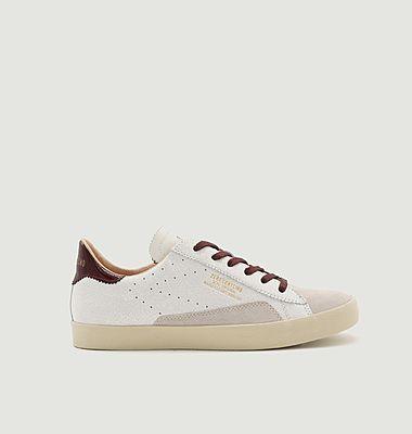 Sneakers en cuir craquelé SC01