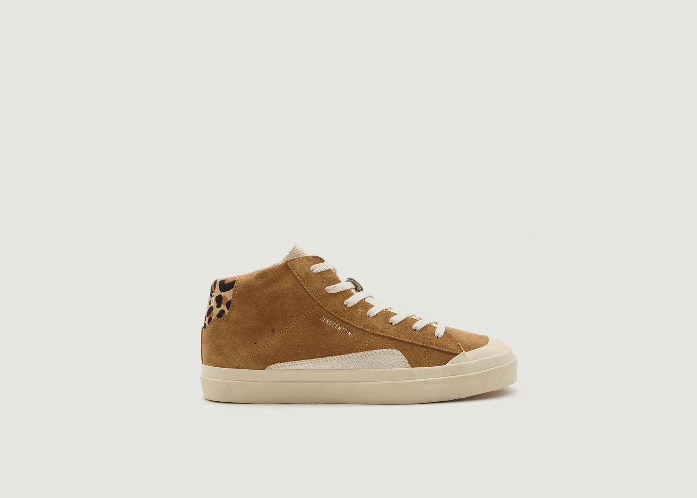 Sneakers montantes en cuir suédé Topaz - 0-105