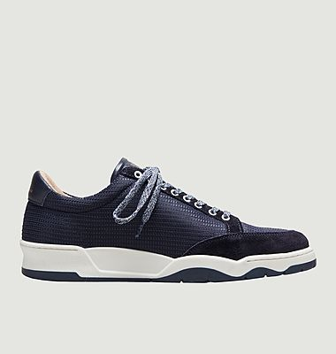 Sneakers mesh et cuir ZSP15