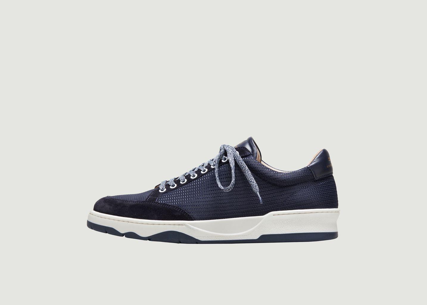 Sneakers mesh et cuir ZSP15 - Zespa