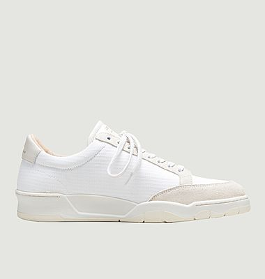 ZSP15 mesh and leather sneakers