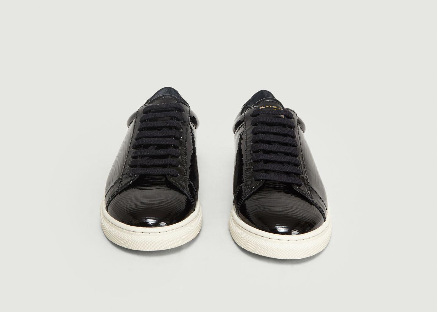 Sneakers Epi ZSP4 en Cuir Vernis Fantasy - Zespa