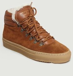 ZSP2 Suede & Shearling High Top