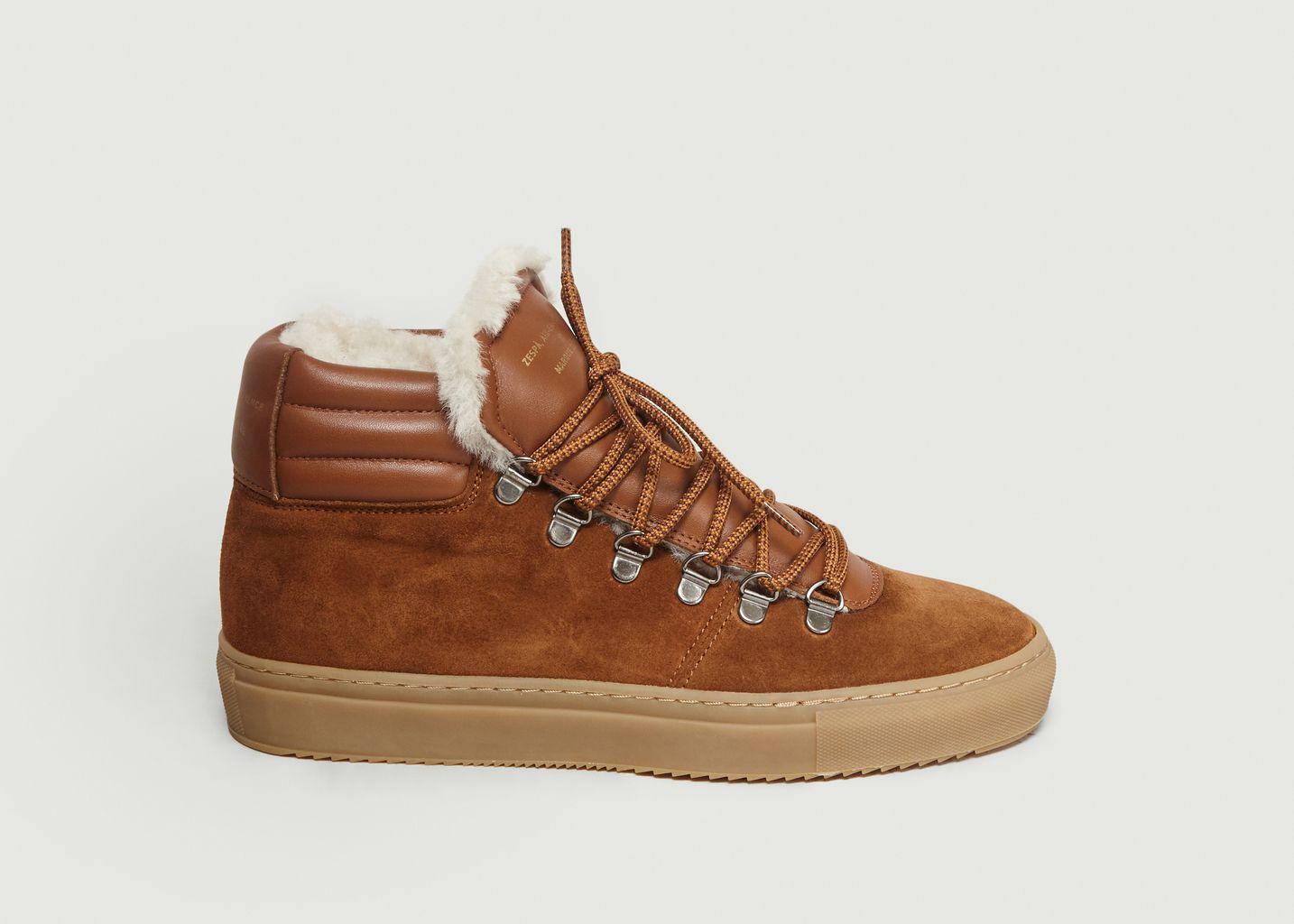 Sneakers ZSP2 Suède Sherling - Zespa