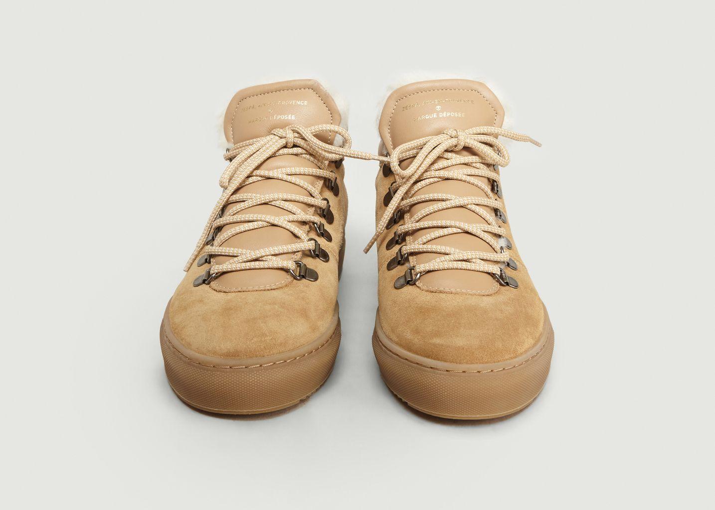 Sneakers ZSP2 en Suède - Zespa