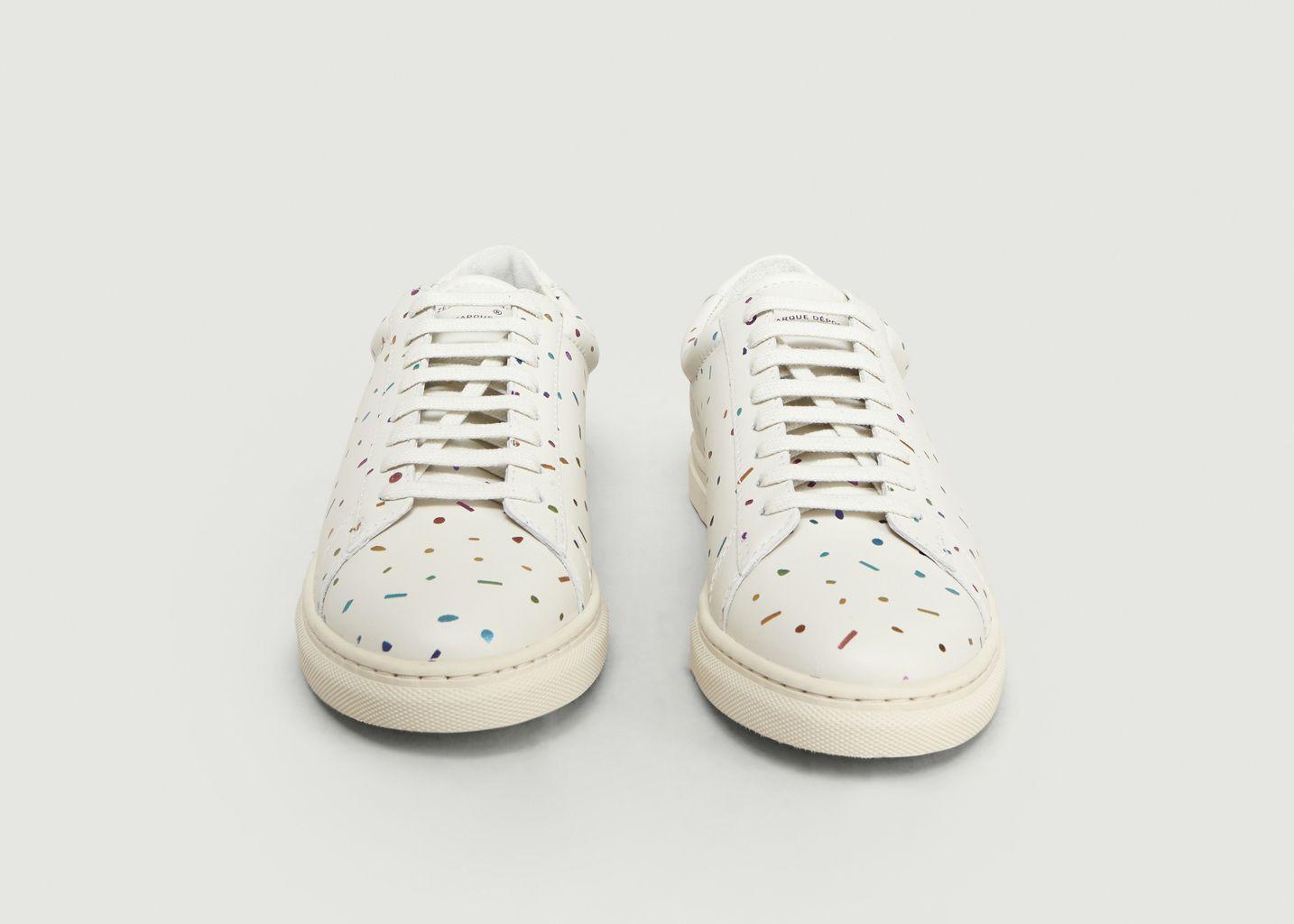 Sneakers ZSP4 Nappa Confetti Embossé  - Zespa