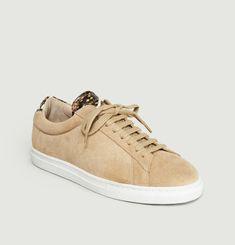Sneakers ZSP4 En Cuir Suédé Apla Vipère
