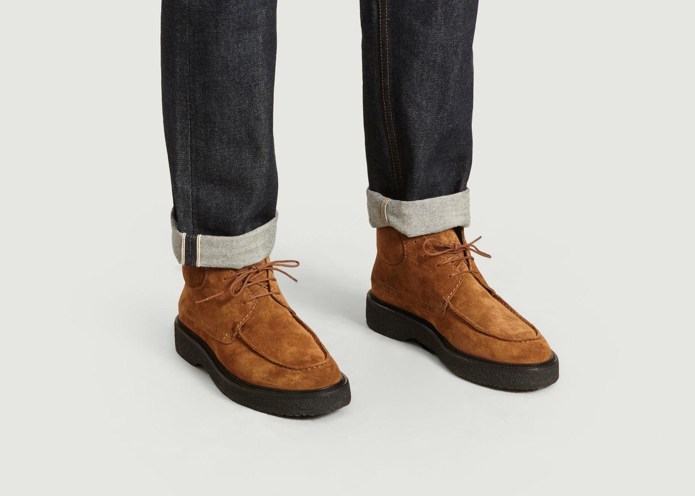 Chukka Boots En Cuir Suédé - Zespa