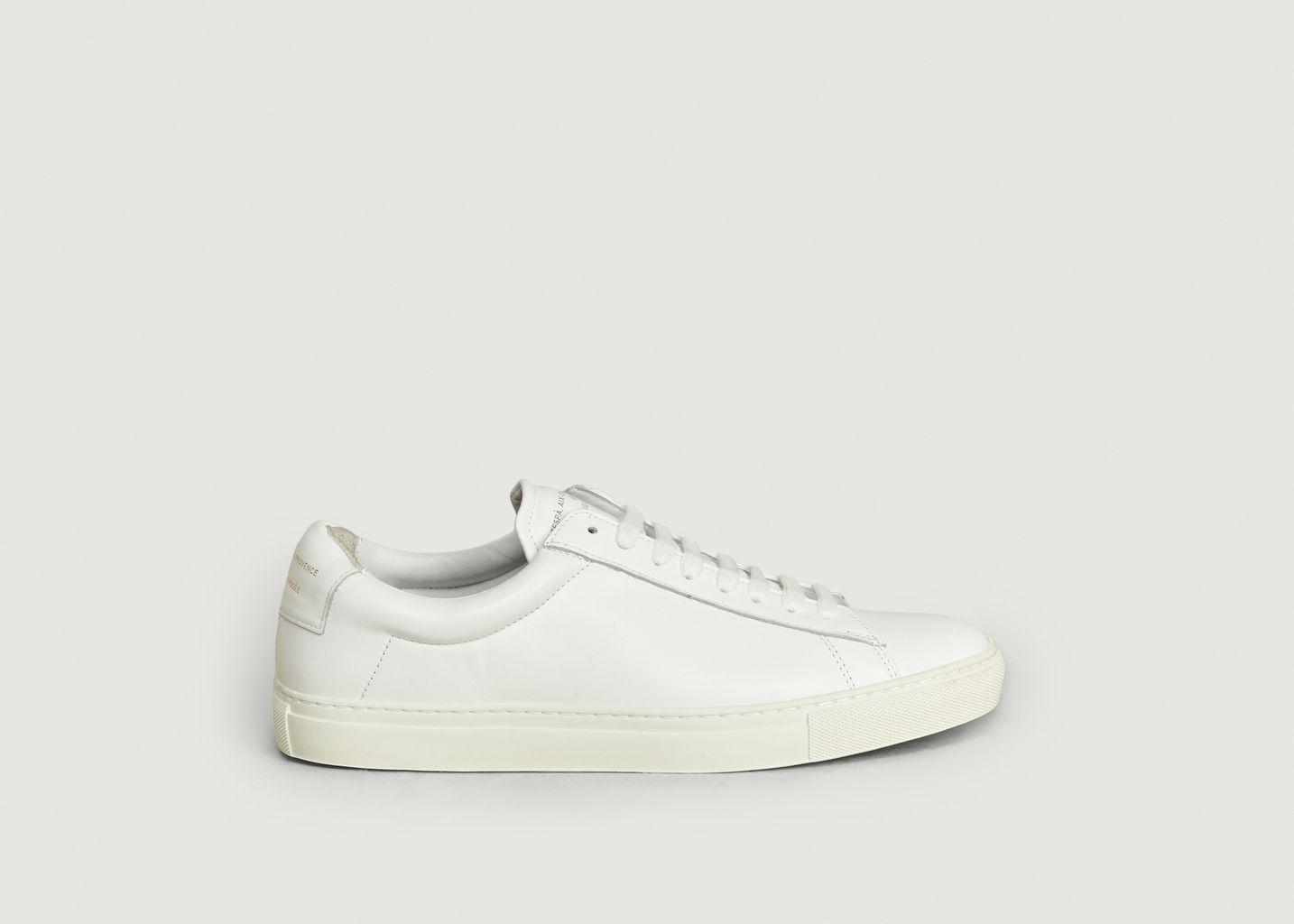 Sneakers ZSP4 HGH En Cuir Nappa - Zespa