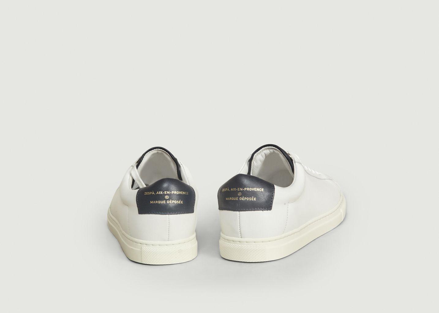 Sneakers ZSP4 En Cuir Nappa Apla - Zespa