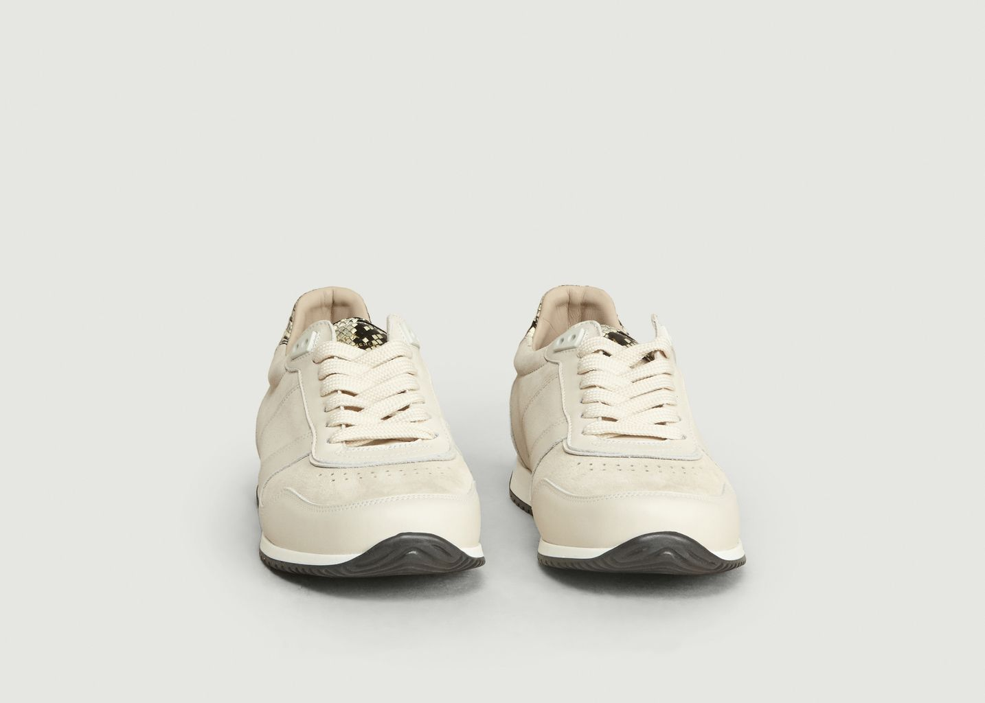 Sneakers ZSP6 Suède Détails Façon Vipère - Zespa