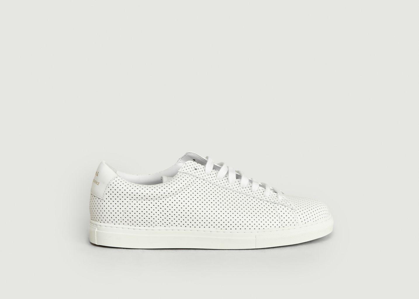 Sneakers ZSP4 Nappa Détails Perforés - Zespa