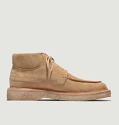 Suede leather chukka boots