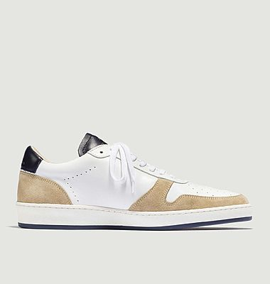 ZSP23 nappa and suede leather sneakers