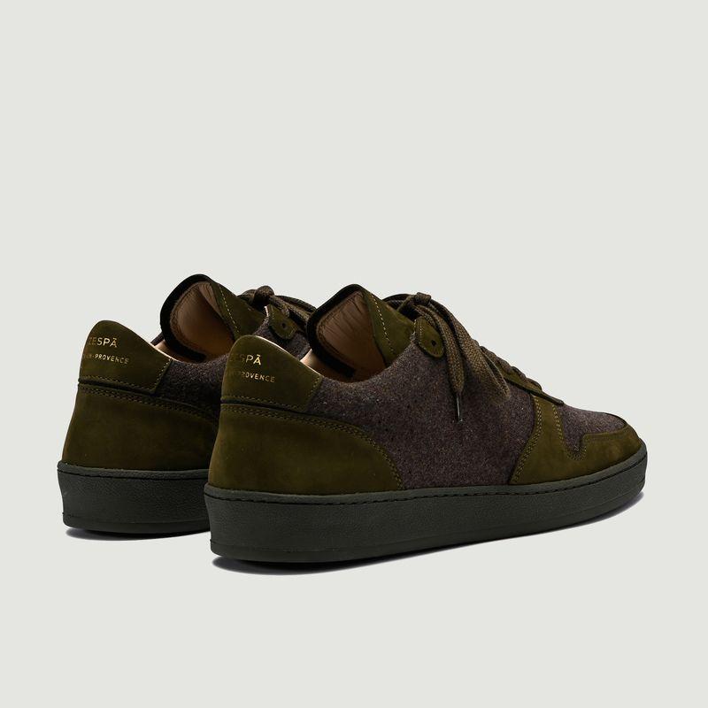 Sneakers en flanelle et nubuck ZSP23 - Zespa