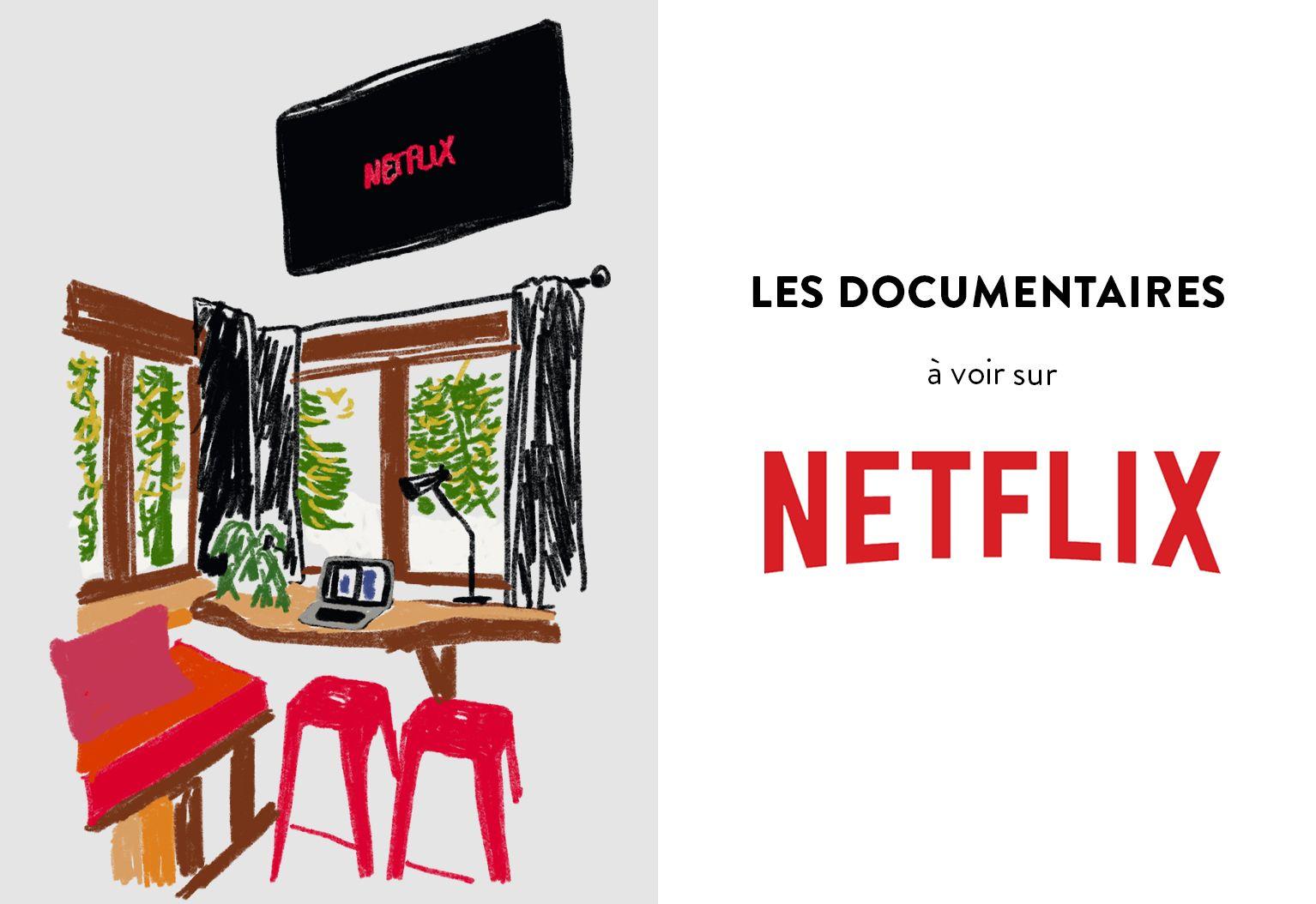 header netflix documentaires