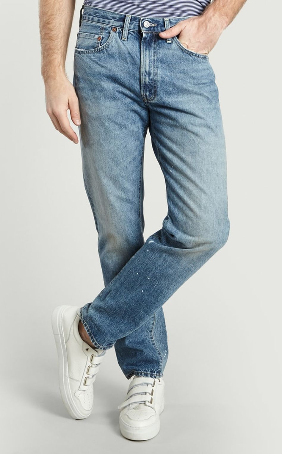 Levi's vintage clothing - 1954 501 baja surf denim