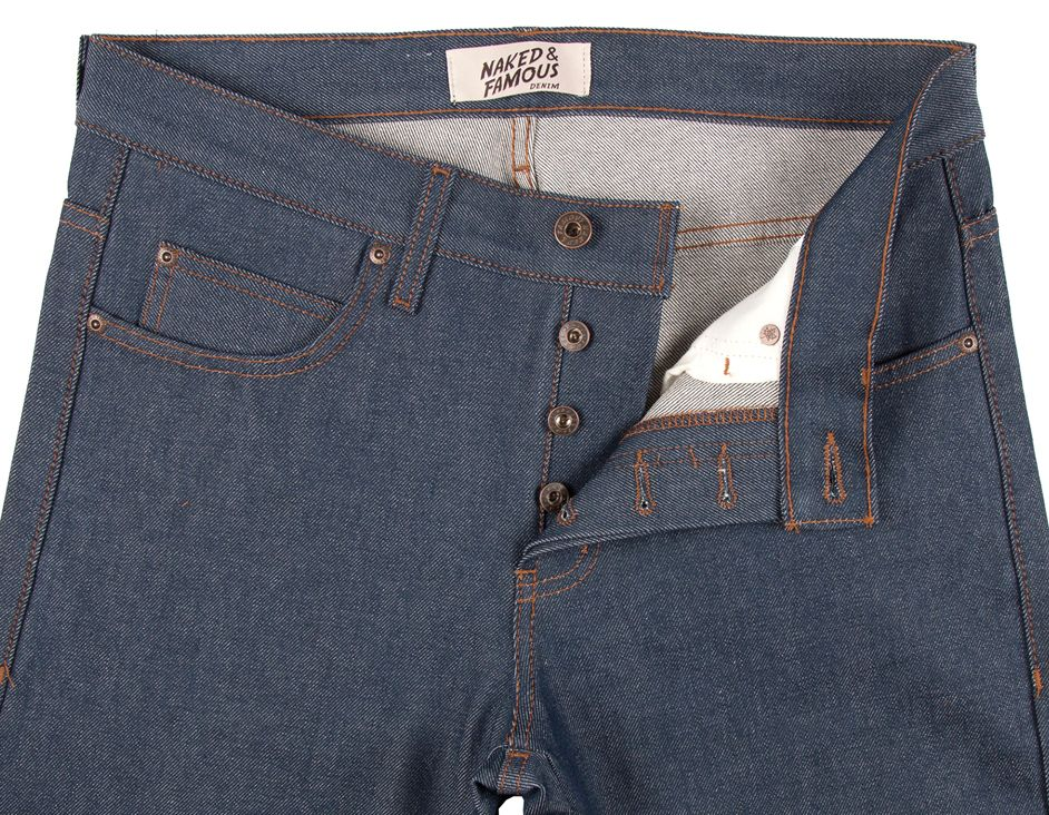 Naked & Famous - jean skinny natural selvedge