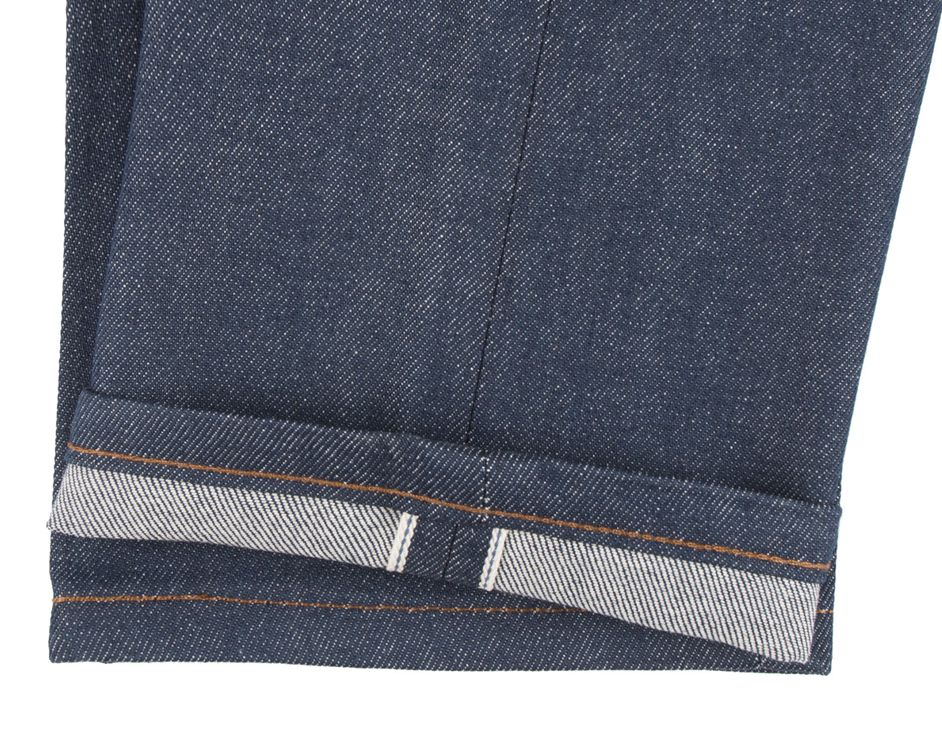 Naked & Famous - skinny natural selvedge denim