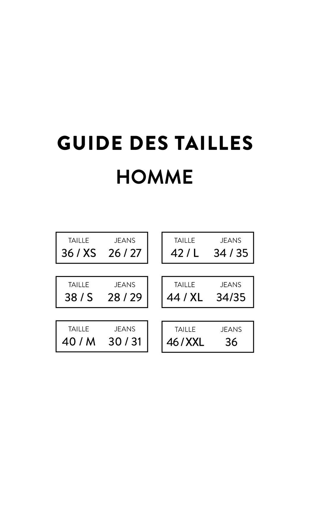 e6ae8ec7f47f2 Guide du Jean pour homme