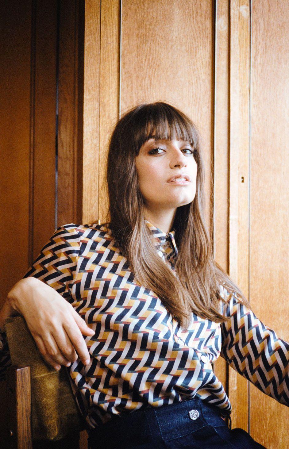Clara Luciani Summer EP blouse