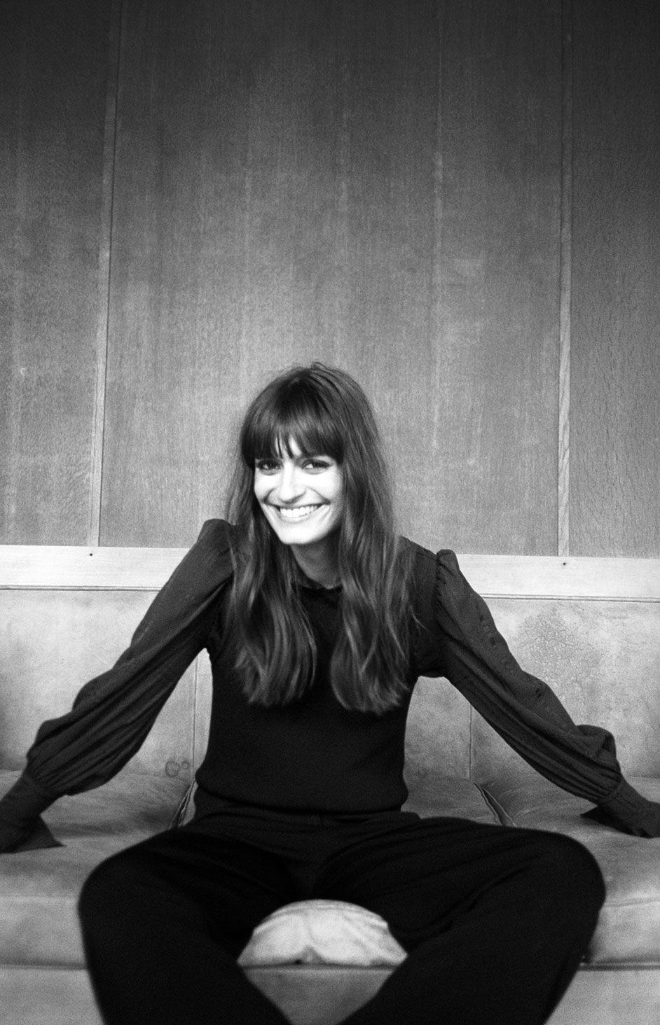 Clara Luciani noir et blanc edito