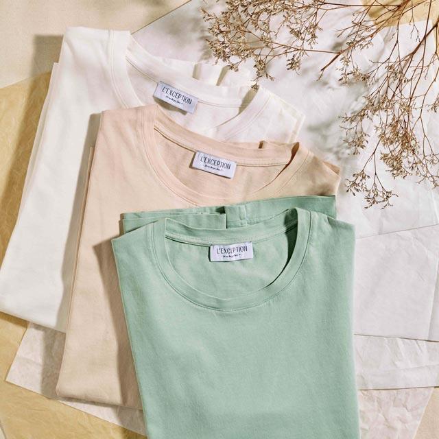 T-shirts en coton bio