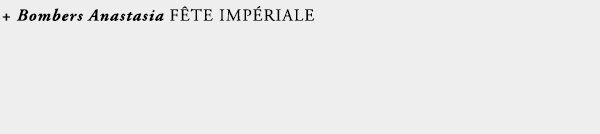 bomber fete imperiale